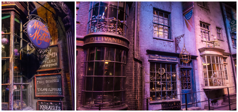 Harry Potter Studios, Engalnd diagon alley