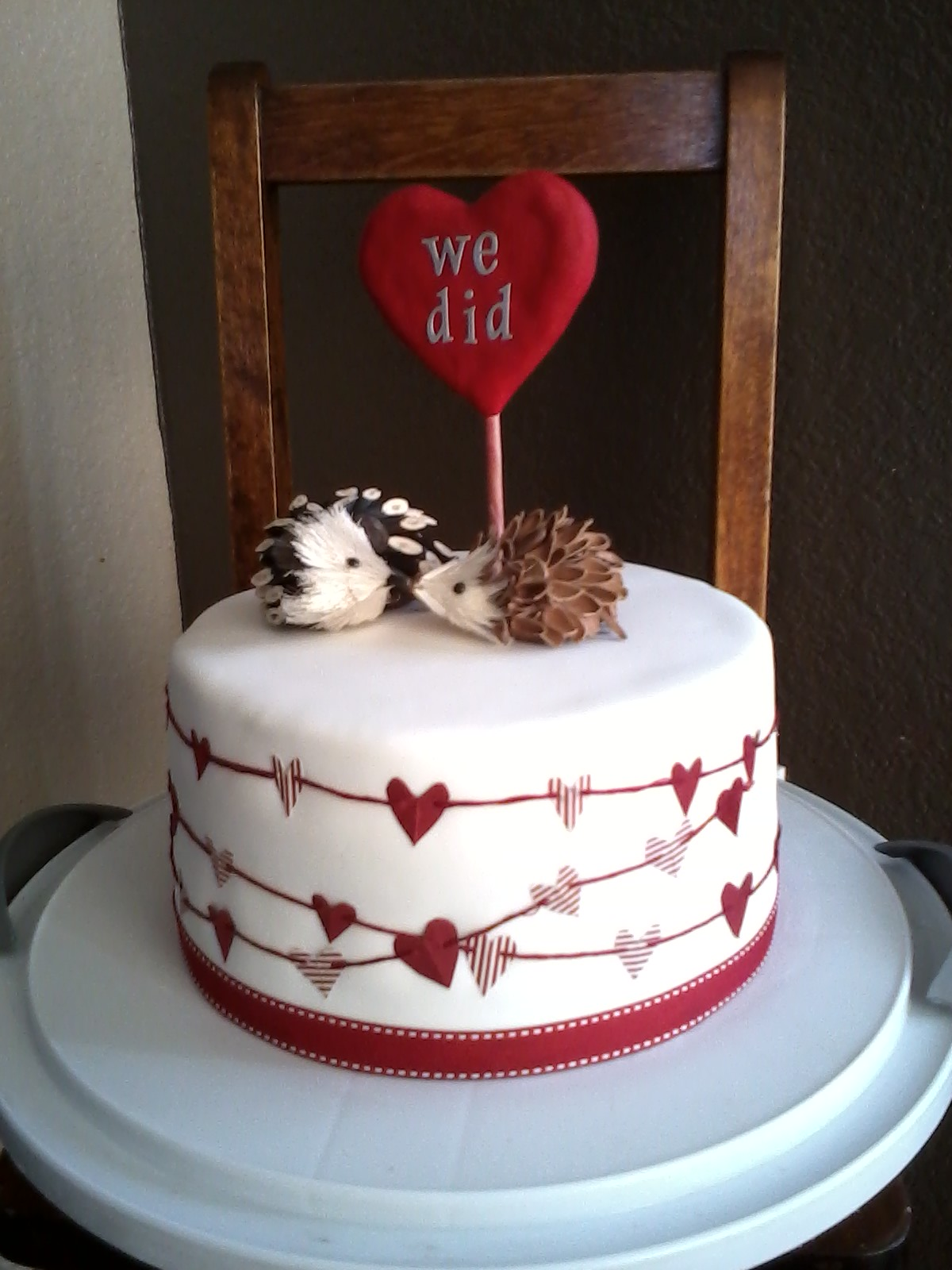 Cake Decorating Ideas For Ruby Wedding : Spatula City Cakes