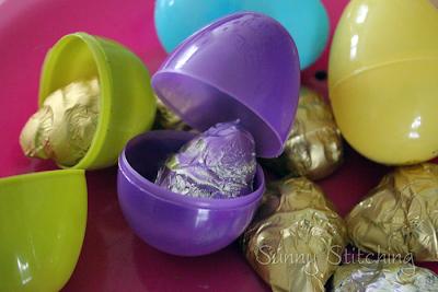 DIY Chocolate Eggs