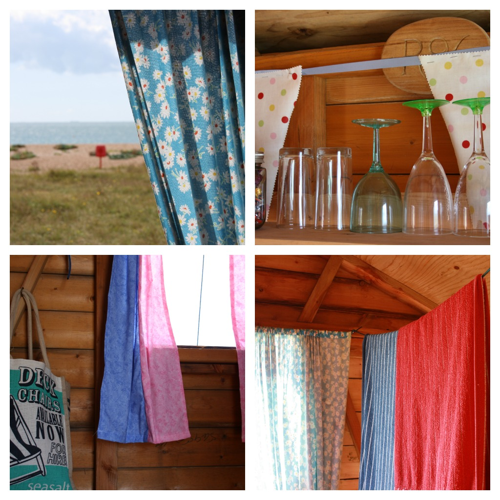 Tales from a happy house beside the seaside beside the sea for Beach hut interior ideas