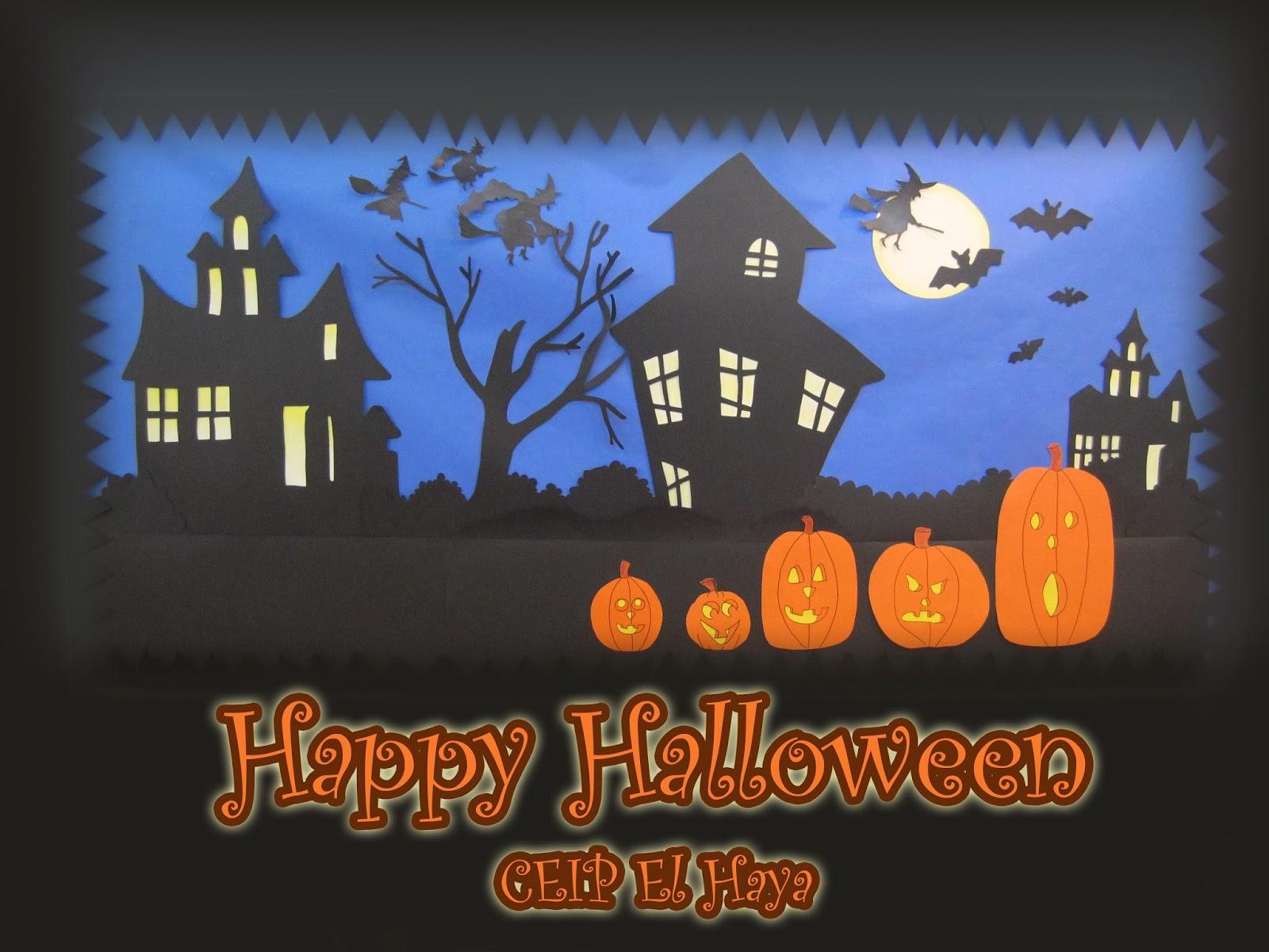 English Corner del Colegio Público El Haya: Our Halloween Bulletin ...