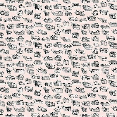 Little red designs quirky wallpaper by erica wakerly for Quirky wallpaper