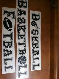 Sports Vinyl Wall Decals