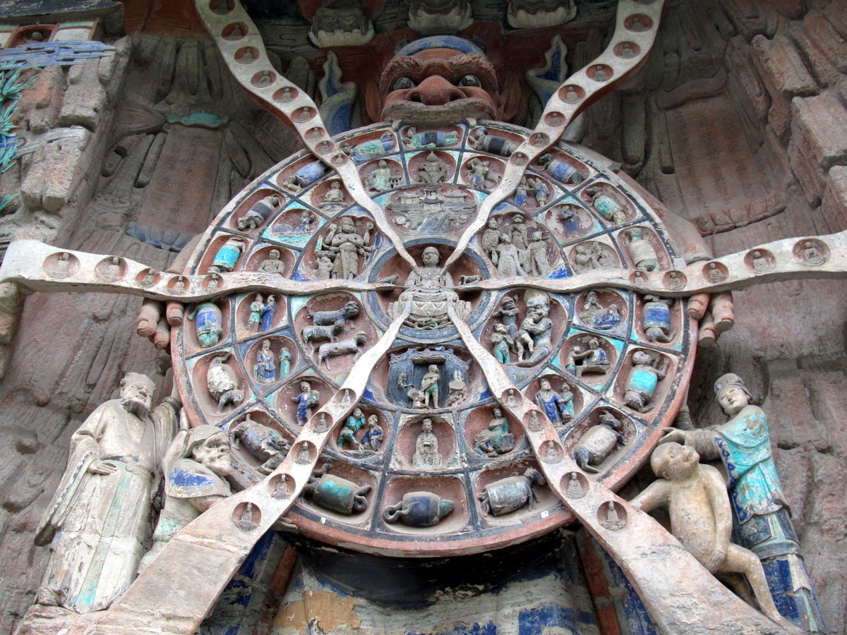 Live love laugh dream cycling to the dazu rock carvings