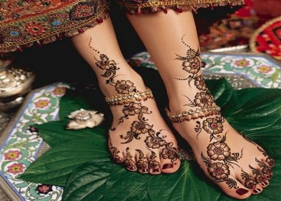Mehndi Legs Images : Latest mehndi designs 2014 for girls and women in pakistan india