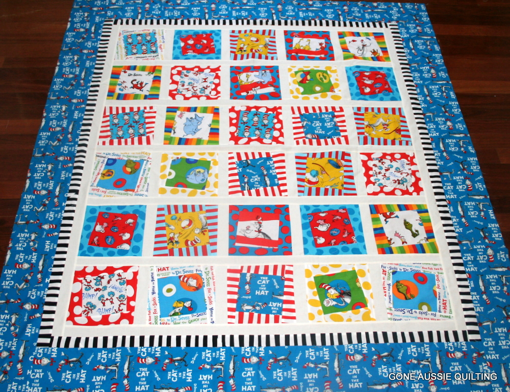 Gone Aussie Quilting: Dr. Seuss Quilt Wonky Quilt Top Finished : wonky quilt - Adamdwight.com