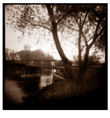 photography, vintage cameras, the bridge, chico, river