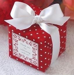 Pakej Doorgift atau Goodies Kek Marble Pecah Lapan