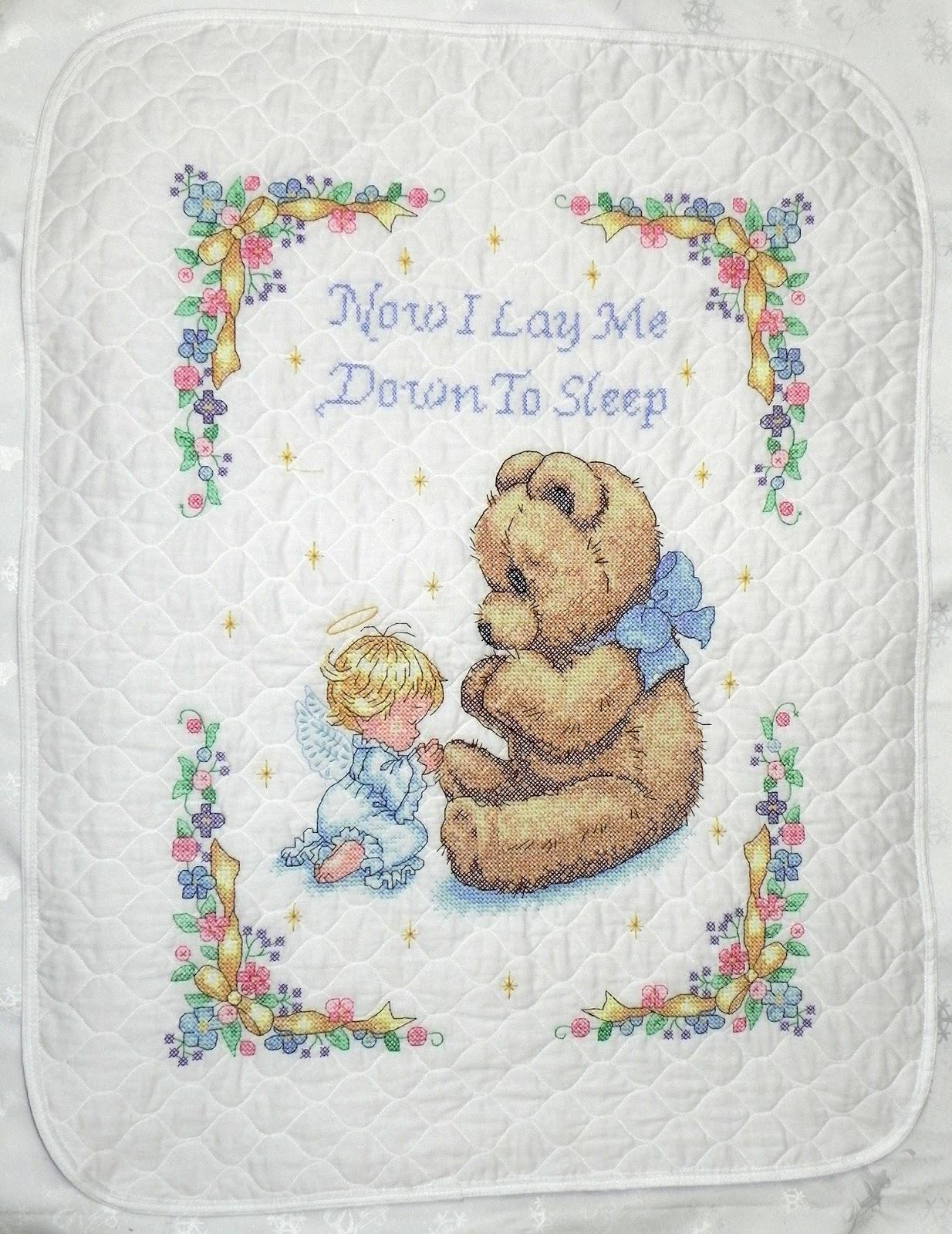 Схемы вышивки одеяла