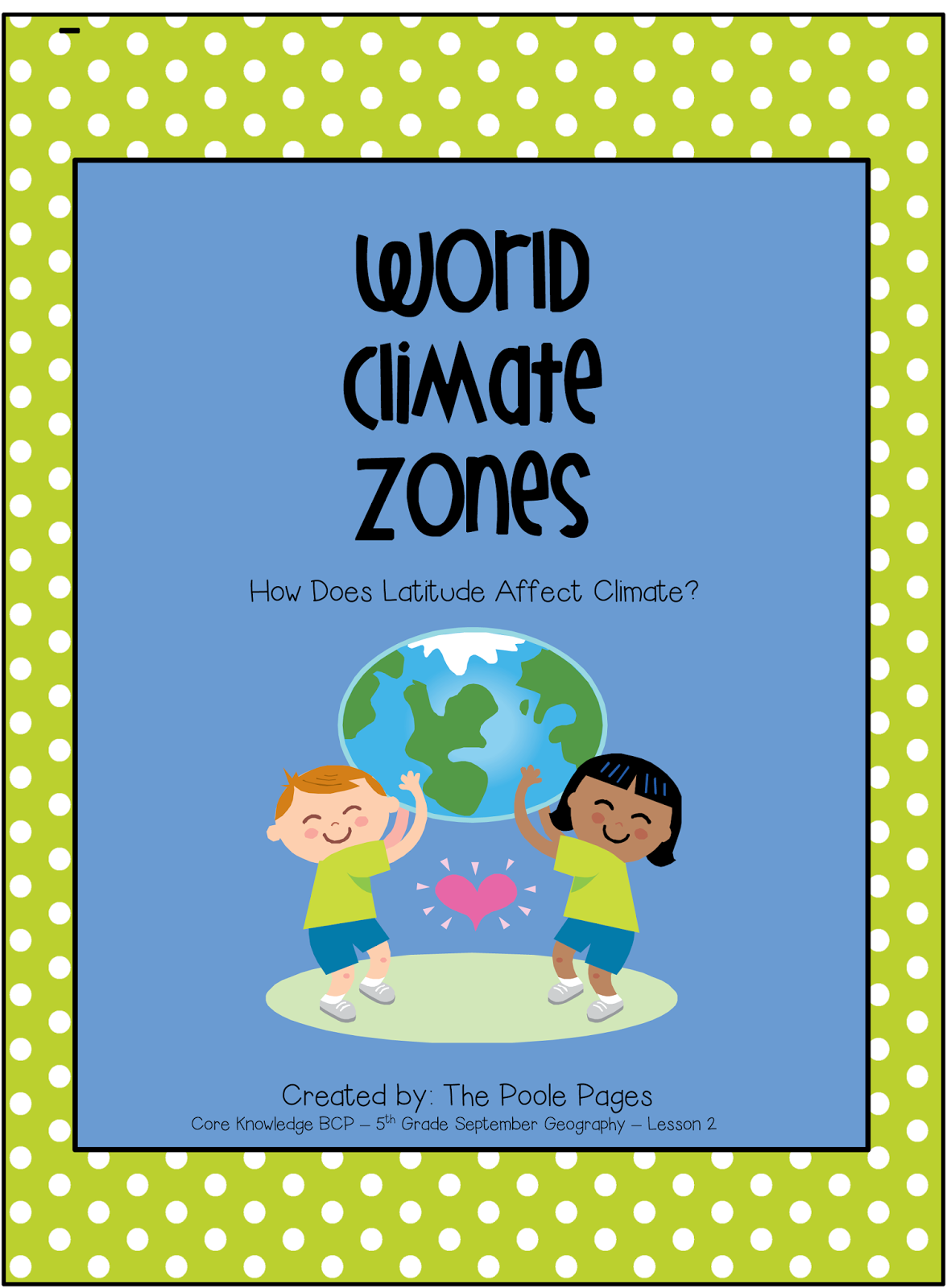 http://www.teacherspayteachers.com/Product/World-Climate-Zones-1335346