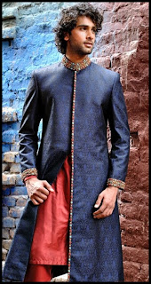 Amir Adnan Men Wedding Sherwani Collection 2013