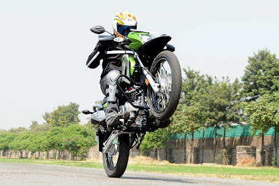 new hero motocorp impulse stunting
