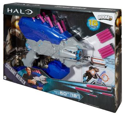 TOYS : JUGUETES - BOOMco : HALO Covenant Needler | Pistola - Blaster Producto Oficial 2015 | Mattel DKN81 | A partir de 6 años Comprar en Amazon España & buy Amazon USA