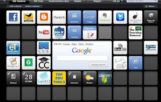 Screenshot of My Symbaloo Page