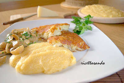 frico piatto vegetariano patate montasio  ricetta tradizionale