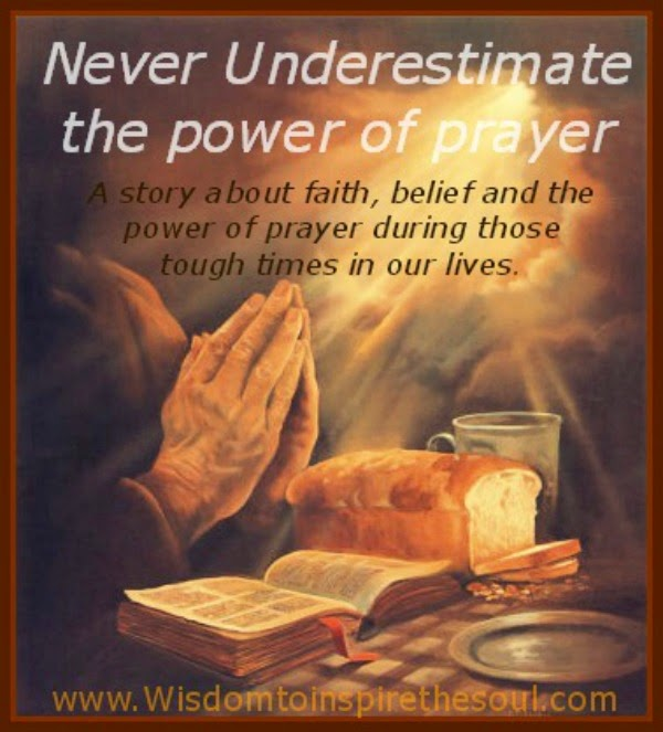 the power of prayer Millions of religious people pray every day to some higher power they call god but do their prayers mean anything is anyone really listening the bible shows us that prayer really does.