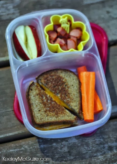 Little Miss has a grilled cheese sandwich on Silver Hills gluten free ...