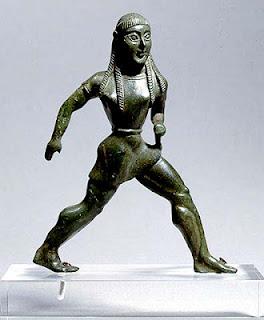 Bronce de joven atleta espartana (550 B[1]_C_ Museo de Arq_ de Atenas)