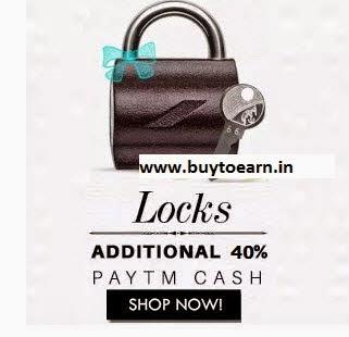 Buy Godrej, Link & Europa Locks Extra 50% Cashback on Rs. 699 only