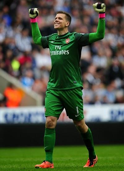 Wojciech Szczesny Goalkeeper Arsenal 2013