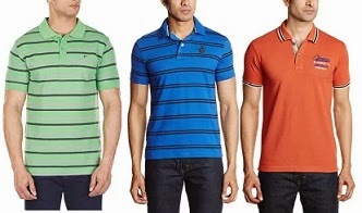 Loot Offer: Flat 50% Off + Extra 20% Off on Men's Polo T-Shirts @ Amazon