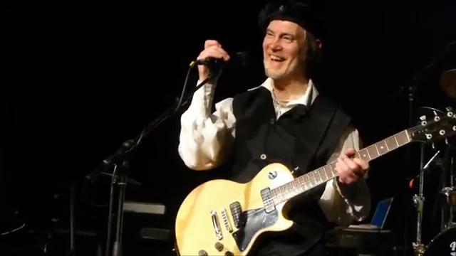 Frank Bornemann avec Eloy à Cologne, 23 janvier 2013
