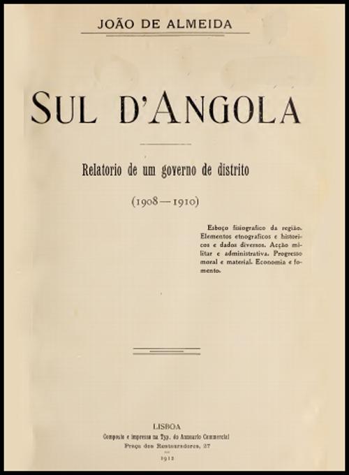 ***SUL DE ANGOLA***
