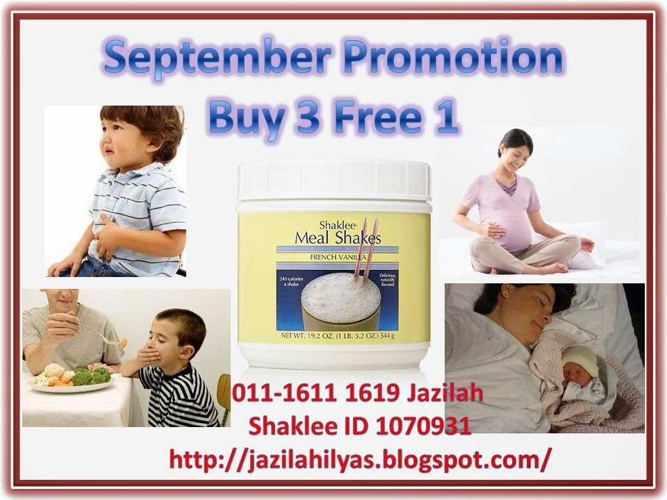 mealshakes promotion