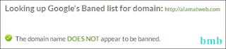 bebas banned google