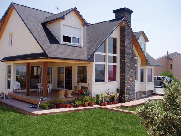 Empleo sostenible cooperativa la caba a - Construcciones de casas de madera ...
