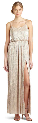 fashion-women's slit maxi dress