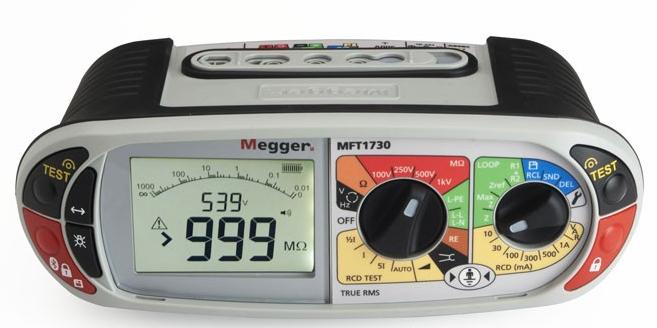 Το όργανο Megger MFT1730