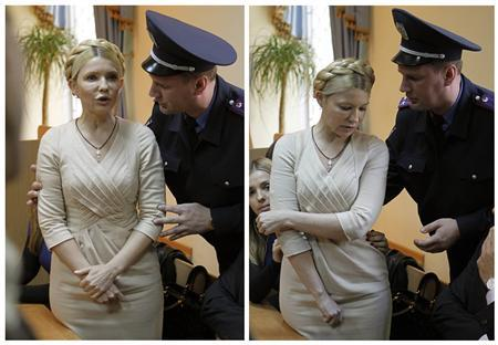 UKRAINE JAILS PRIME MINISTER FOR DOING HER JOB?