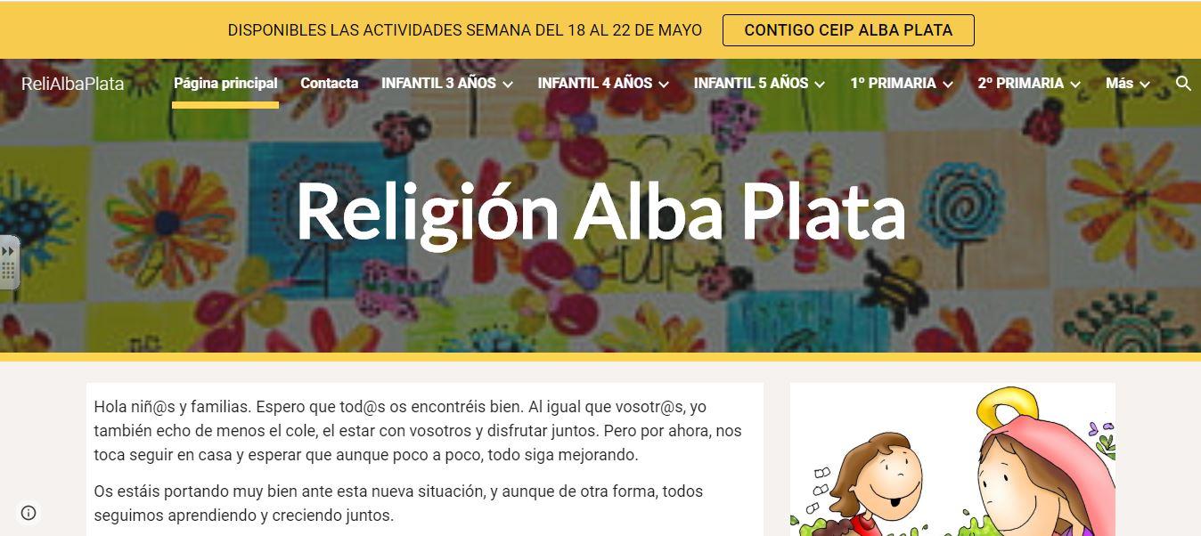 RELIGIÓN ALBA PLATA