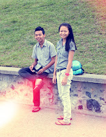 FITRI WITH TAJUL ;)