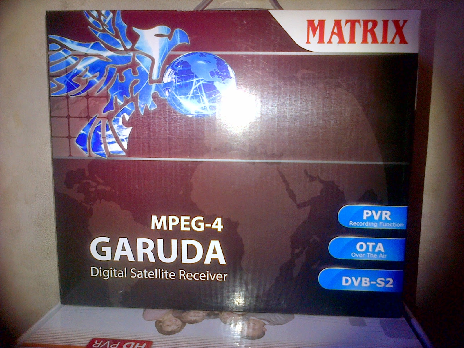 Decoder Matrix Garuda MPEG 4