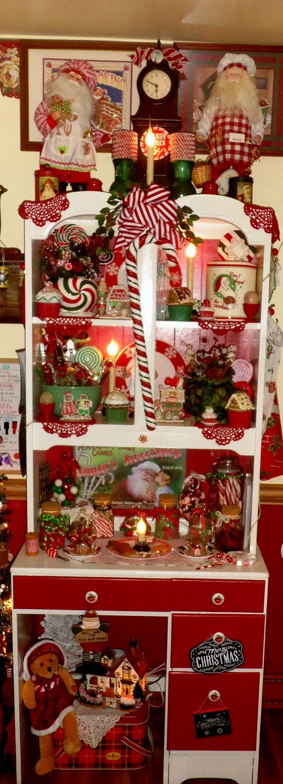Christmas in the Kitchen, Christmas Home Tour 2015