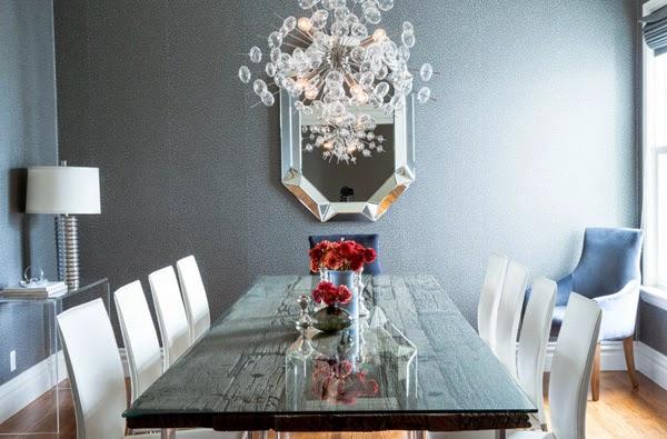 idea para hacer una mesa con antiguos tablones de madera y cristal protector