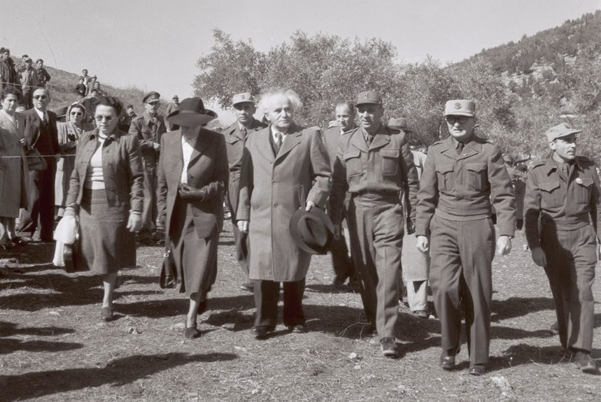Hoy se cumplen 41 años del fallecimiento de David Ben Gurion, padre y Primer Ministro de Israel