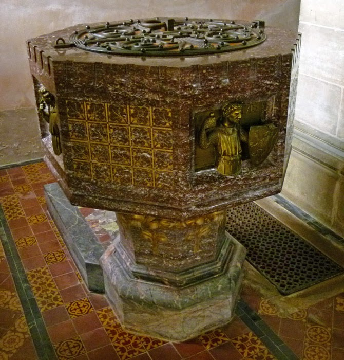 Font, Tennessee marble, Marquess of Ripon, Frederick Vyner