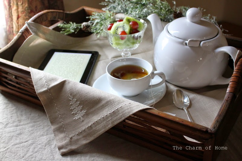 Inspirational Tea: The Charm of Home