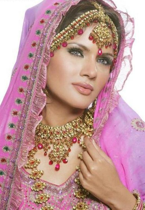 Indian Bridal Unique Wedding Jewelry Designs Girls Wearing Indian