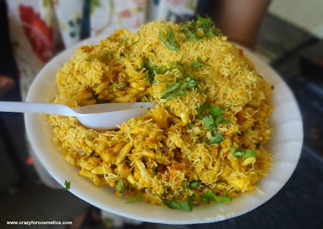 Bhel Puri chaat Chennai
