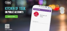 Kitchen of Tolik е вече част от Viber