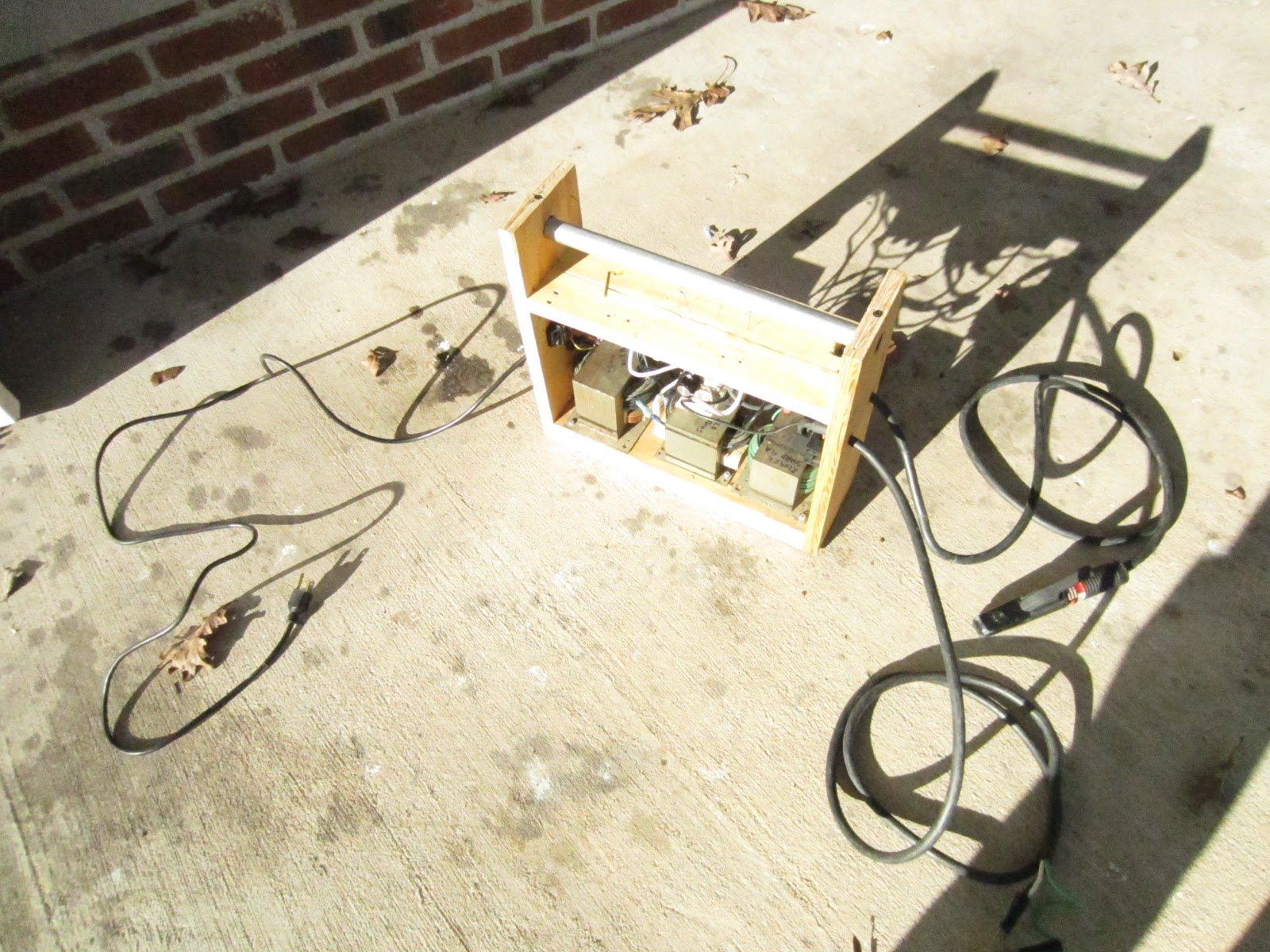 DIY 110 V Portable Arc Welder - with DC! | From mind to machine