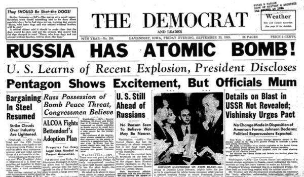 Russia Atomic Bom