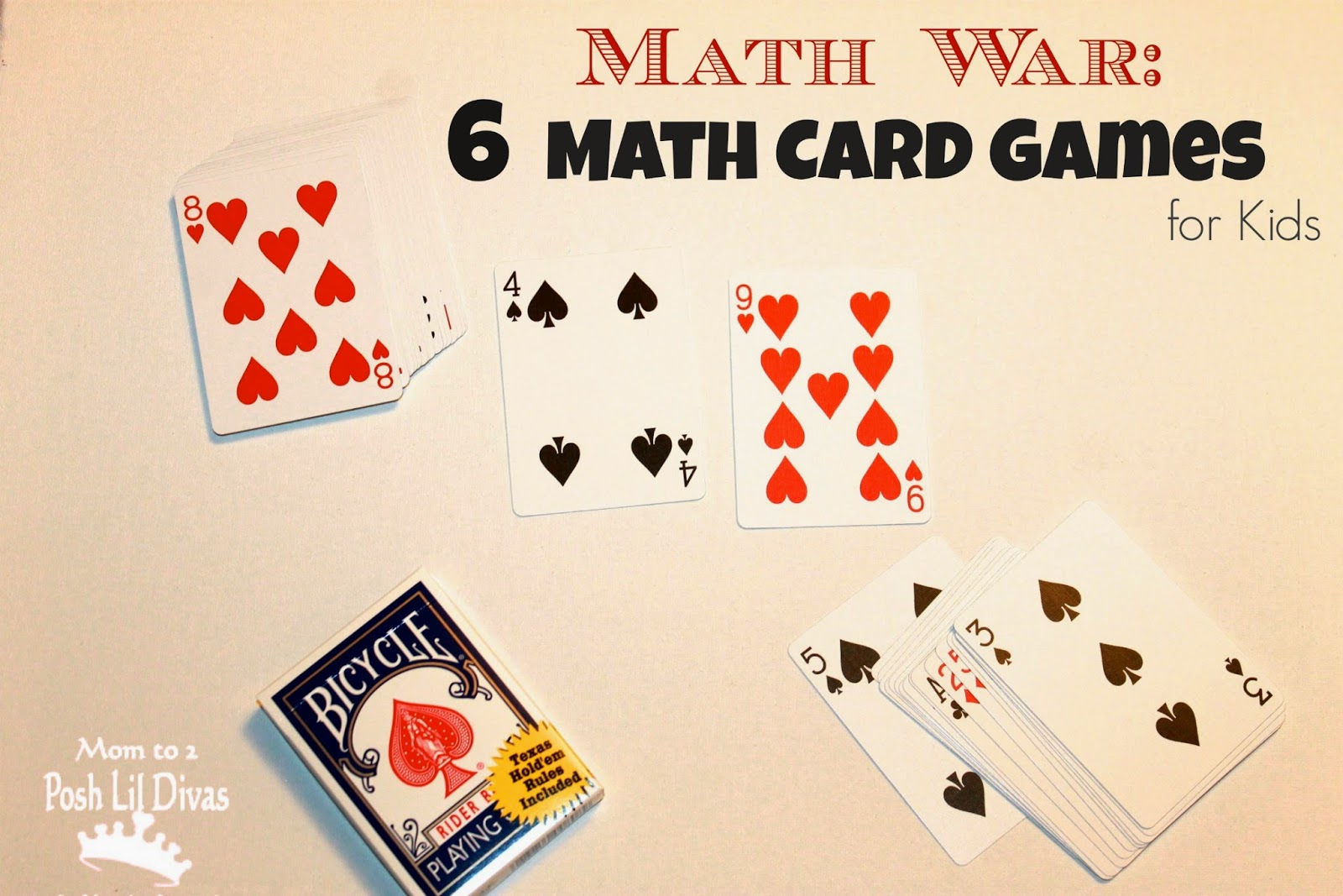 math war card game rules