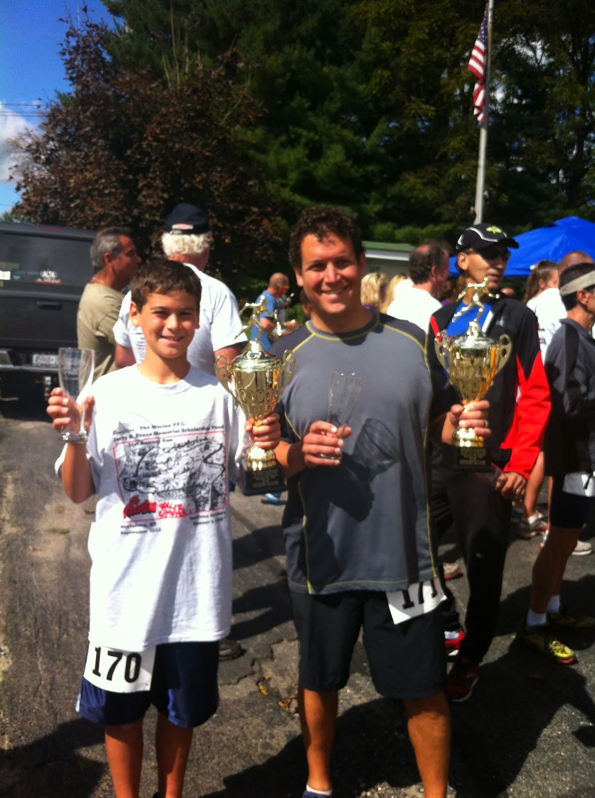 Justin was the youngest one to ever complete the King Of The Mountain Race Series