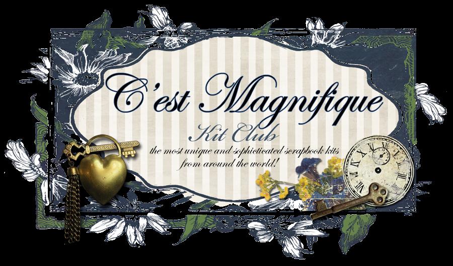 Jeg ble featured på C`est Magnifique !!!