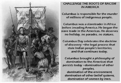 the truth about columbus day More than 50 cities and states across the us have renamed columbus day with indigenous peoples' day.